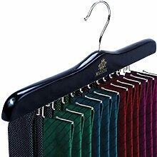 MATAYA Krawattenhalter - Krawattenbügel aus Holz