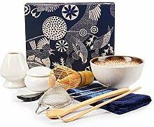 Matcha-Set, Bambus-Matcha-Schneebesen für Tee,