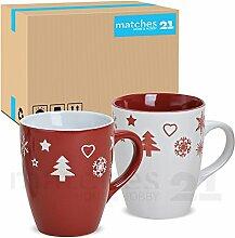 matches21 Becher Tassen Kaffeetassen Kaffeebecher