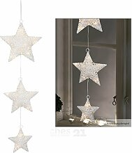 matches21 LED Fensterbild Sternen-Kette /