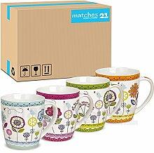 matches21 Tassen Becher Kaffeetassen Kaffeebecher