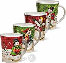 matches21 Weihnachtstassen Tassen Becher