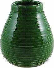 Mate Becher Mate Rustico Keramik grün