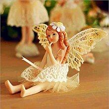 matecam Flower Fairy Dekoration Ornaments Miniatur Figur Craft Home Decor Miniatur Puppenhaus Fairy Hochzeit Geburtstag Geschenk