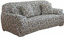 matefield Sofa Möbel Cover Bettüberwurf Big Elastic Bedruckte Sofa Cover, Youth Rings, Three-seat 190-230