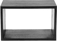 Mater Box System Regal schwarz gebeizt S (40 x 25