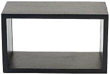 Mater Box System Regal schwarz gebeizt XS (34 x 20