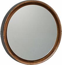 Mater - Sophie Mirror, groß, Ø 61 cm natur /