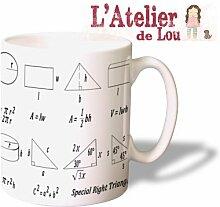 Mathe Mathematische Formeln Mug Kaffeetasse Kaffeebecher - Originelle Geschenkidee - Spülmaschinenfes