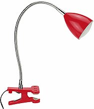 Mathias 3481830Tom Klemmleuchte, LED, 1,5W, 12V, Durchmesser: 6cm, Höhe 26cm, weiß ro