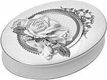 Mathilde M. Schmuckdose Dose oval 'Roses'
