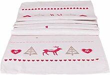 matrasa Tischläufer Deer Love 40 x 180 cm -