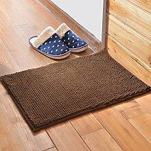 Matratze, Badezimmermatte, absorbierende Matte, Schlafzimmer Matratze, Bad Matte, 60 * 90cm Matte, rechteckigen Matte ( farbe : F )