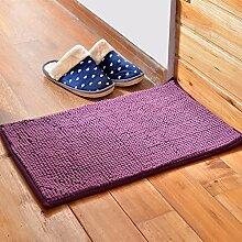 Matratze, Badezimmermatte, absorbierende Matte, Schlafzimmer Matratze, Bad Matte, 60 * 90cm Matte, rechteckigen Matte ( farbe : I )