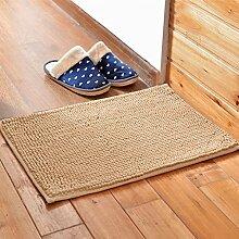 Matratze, Badezimmermatte, absorbierende Matte, Schlafzimmer Matratze, Bad Matte, 60 * 90cm Matte, rechteckigen Matte ( farbe : S )