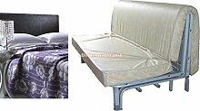 Matratze für Sofa Bett 160x 190prontoletto mit Biese auf Sitz Materasso + coperta
