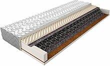 Matratze mit Bonellfederkern 017 - Größe: 90 x