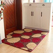 Matratze tür matt pad wohnzimmer eingang rauch schiebetüren nicht-slip water absorption-A 80x120cm(31x47inch)