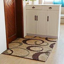 Matratze tür matt pad wohnzimmer eingang rauch schiebetüren nicht-slip water absorption-F 80x120cm(31x47inch)