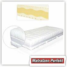 Matratzen Perfekt Vital Premium anstatt 7-Zonen - 9-Zonen, H2 (Medium), Kaltschaummatratze Sandwich - Technik (140 x 200 cm)