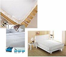 Matratzenauflage Inkontinenz Wasserdicht Matratzenschutz Matratzenschoner Auflage Weiß Wasserdicht 160X200cm