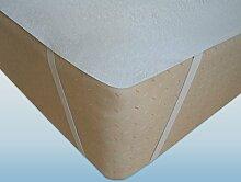 Matratzenschoner, Auflage verschiedene Größen atmungsaktiv, Schutz (120x200)