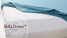 Matratzenschoner Bella Donna Clima DUO1 160x200-220cm weiss