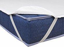 Matratzenschoner Wasserdicht Atmungsaktiv Moderno® Special Molton Betteinlage Inkontinenz mit 4 Übereckgummis in (Breite x Länge) 200x200cm