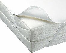 Matratzenschoner Wasserdicht Frottee Betteinlage Bezug Matratzenauflage 7 Größen (180X200 cm)