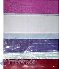 MATRIX Duschvorhang Vinyl 180 x 200 cm transparent/weiß/gelb/lila/pink/grün