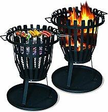 MATRO Feuerschale und Grill rund