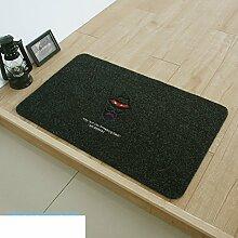 Mats/Fußmatte/Anti-Rutsch saugfähigen indoor Kissen Badematte in der Küche/Verschleißfest und Schmutz Fußmatten-S 80x120cm(31x47inch)