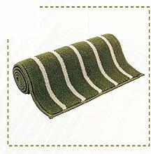 Mats/Küche Bar Matte/Badezimmer Schlafzimmer Bad WC Bett wasserabsorbierenden Fußmatte an der Tür/Automatten-C 65x120cm(26x47inch)