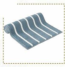 Mats/Küche Bar Matte/Badezimmer Schlafzimmer Bad WC Bett wasserabsorbierenden Fußmatte an der Tür/Automatten-F 65x120cm(26x47inch)
