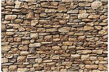 Matt Fototapete Amerikanische Steinwand 1,9 m x