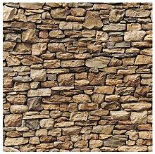 Matt Fototapete Amerikanische Steinwand 1,92 m x