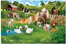 Matt Fototapete Animal Club International - Tiere