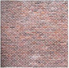 Matt Fototapete Backstein Mauer Rot 1,92 m x 192