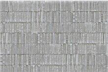 Matt Fototapete Beton Ziegel 1,9 m x 288 cm
