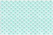 Matt Fototapete Diamant Türkis Luxus 1,9 m x 288