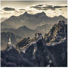 Matt Fototapete Die Große Chinesische Mauer 1,92