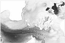 Matt Fototapete Dunst und Wasser II 2,55 m x 384