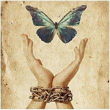 Matt Fototapete Flieg, Schmetterling! 1,92 m x 192