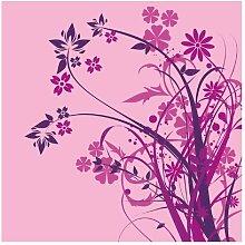 Matt Fototapete Florales Ornament 1,92 m x 192 cm