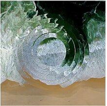 Matt Fototapete Geometrie Trifft Strand 2,88 m x