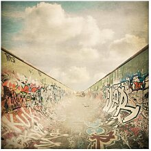 Matt Fototapete Graffiti-Skatepark 2,88 m x 288 cm