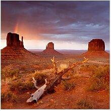 Matt Fototapete Monument Valley bei
