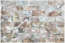 Matt Fototapete Naturmarmor Steinwand 2,25 m x 336