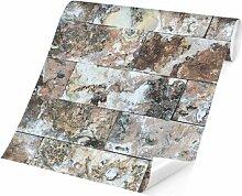 Matt Fototapete Naturmarmor Steinwand 2,9 m x 432
