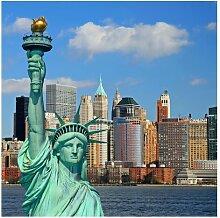 Matt Fototapete New York Skyline 3,36 m x 336 cm
